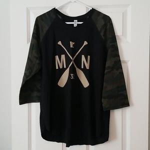 Sota clothing camo baseball t size xl